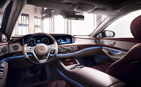 Mercedes Benz Classe S interieur